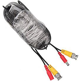 Cable de Extensión de 18.25m para Video y Corriente