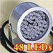 48 LED InfraRed Illumination Light for Night Vision (30° spot coverage)