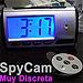 Cámara Espía Oculta en Reloj Digital c/LCD de 2.7 pulg. (microSD de 4GB)
