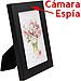 Cámara Espía Oculta en un Marco, 640x480, con Tarjeta microSD de  8GB, 70-80 min.
