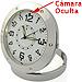 Reloj Espía de Escritorio, 640x480, NannyCam, OfiCam (4GB, Plateado)