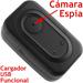 Cámara Espia Oculta en Cargardor USB de Pared, 640x480,  4GB, grabación de largo plazo