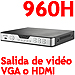 8-CH Professional 960H DVR, 240fps, VGA, HDMI, PTZ, LAN, Internet and 3G Monitoring
