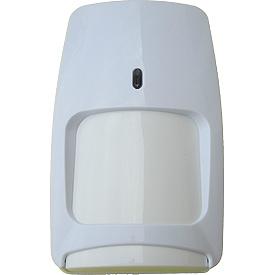 Sensor de Movimiento de Doble Tecnología (PIR + Microondas), Immune a mascotas de hasta 25 kilos