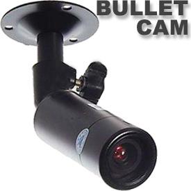 Cámara de Vigilancia, estilo Bala (Lente de 6mm)