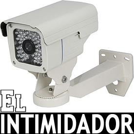 Cámara CCD Super HAD p/Interior o Exterior c/Visión Nocturna de 30m! (Lente de 6mm)
