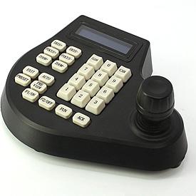 Controlador PTZ con Teclado y Joystick