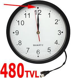 Cámara CCTV Oculta en Reloj de Pared (lente de 3.7mm)